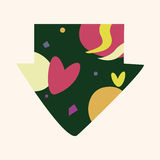 Arrow theme elements vector,eps. Vector illustration file Royalty Free Stock Images
