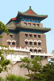 Arrow Tower Just South of the Main Gate into Ancient Beijing Stock Image