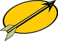 Arrow vector illustration. Vector illustration of an arrow Stock Photos