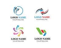 Arrow vector illustration icon Logo Template stock illustration