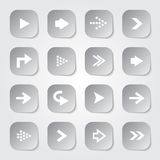 Arrow Web Buttons Royalty Free Stock Image