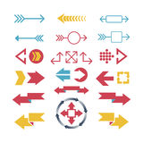 Arrow web icon vector illustration. Stock Photography