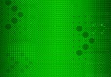 arrowed зеленый цвет предпосылки Стоковая Фотография