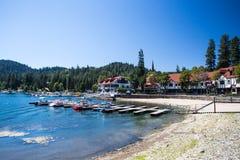 Arrowhead λιμνών ακτή Στοκ Εικόνες