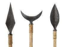 Arrowhead που απομονώνεται ασημένιο Στοκ Εικόνες