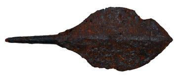 Arrowhead χειροποίητο αντικείμενο που ανασκάπτεται Στοκ Εικόνες