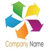 Arrowhead logo Royalty Free Stock Image