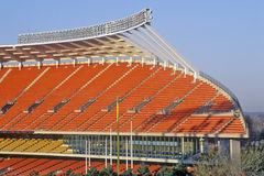 Arrowhead Stadium, home of the Kansas City Chiefs , Kansas City, MO Royalty Free Stock Photo