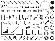 arrowheaden vektor illustrationer