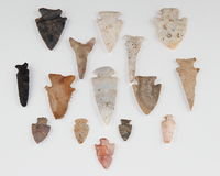 Arrowheads. Found in Southern IL Royalty Free Stock Image