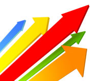 Arrows_01 Royalty Free Stock Photo
