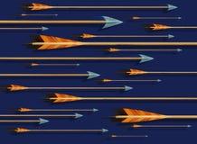 Arrows. Illustration Stock Image