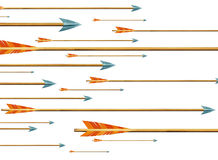 Arrows. Illustration Stock Images