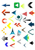 Arrows 2009 colourfull. The compliance of arrows for web-designers and other graphics Stock Photo