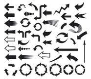 Arrows. Icons,  icons set Royalty Free Stock Photos