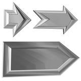 Arrows. 3D illustration royalty free illustration