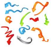 Arrows. Vector illustration of arrows....more colors vector illustration