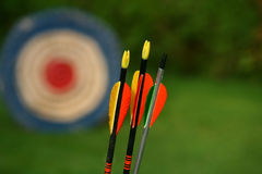 Free Arrows And Target Royalty Free Stock Photography - 6215267