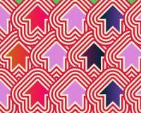 arrows art blue pop red up violet Στοκ εικόνα με δικαίωμα ελεύθερης χρήσης