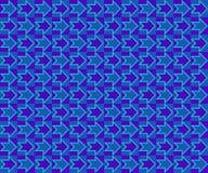 arrows art blue pop school διανυσματική απεικόνιση