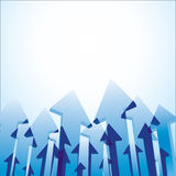 Arrows background Royalty Free Stock Image