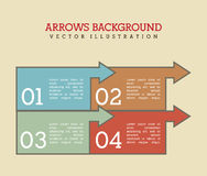 Arrows background Royalty Free Stock Photo
