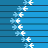 Arrows Background Stock Images