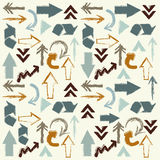 Arrows background Royalty Free Stock Images