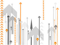 arrows background vector Στοκ Φωτογραφία
