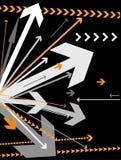 arrows background vector Στοκ Φωτογραφίες