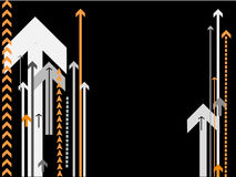 arrows background vector Στοκ εικόνα με δικαίωμα ελεύθερης χρήσης