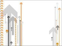 arrows background vector Στοκ εικόνες με δικαίωμα ελεύθερης χρήσης