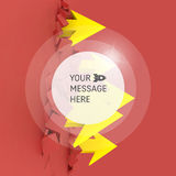 Arrows. Business Concept Illustration with Place for Text. Royalty Free Stock Photography
