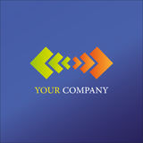 Arrows business logo. For business use Stock Photos