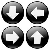 Arrows Buttons Royalty Free Stock Photography