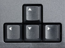 Arrows of Computer Keyboard Royalty Free Stock Photography
