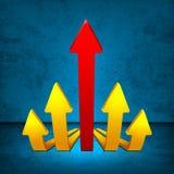 Arrows 3D Stock Images