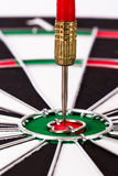 Arrows on Dart Board Royalty Free Stock Images