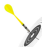 Arrows darts and target Stock Photography