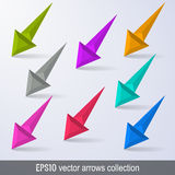 Arrows design elements collection Royalty Free Stock Photos