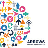 Arrows design Stock Photos