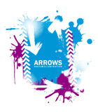 Arrows design Stock Photo
