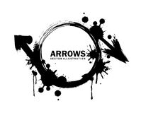 Arrows design Stock Image