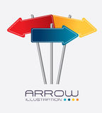 Arrows design Royalty Free Stock Image