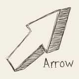Arrows design Royalty Free Stock Photography