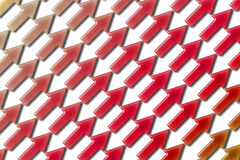 Arrows diagonal 01. Color arrows pattern diagonal stock illustration