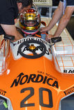 Arrows F1 driver Stock Photo