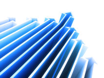 Arrows geometrical background Royalty Free Stock Image