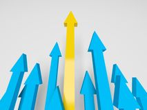 Arrows Going Upward Stock Photos