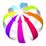 Arrows icon Stock Photo